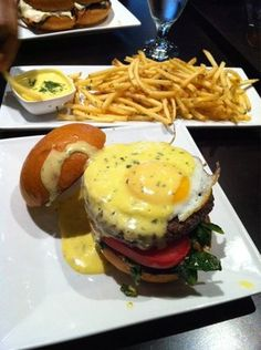 Benedict Burger is from Eden Burger Bar in Glendale.