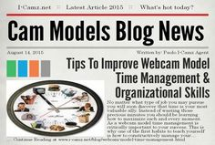 Latest article from www.i-camz.net Cam Models Blog - Learn about ‪#‎WebcamModelTimeManagement‬ to BOOST your $Earnings$!! http://www.i-camz.net/blog/webcam-model-time-management.html