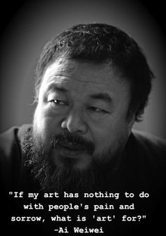Ai Weiwei (Chinese: 艾未未; pinyin: Ài Wèiwèi; About this sound English pronunciation (help·info)), born 18 May 1957 in Beijing, is a Chinese contemporary artist, active in sculpture, installation, architecture, curating, photography, film, and social, political and cultural criticism