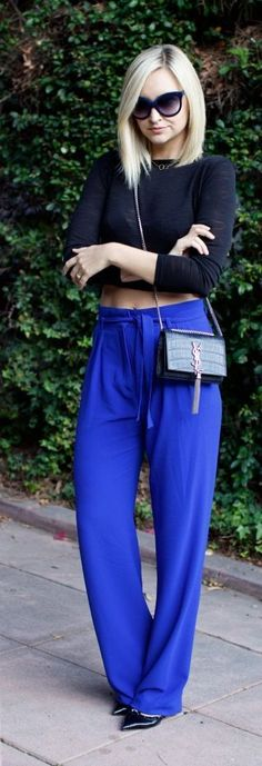 Velvet Blues Chic Style - Late Afternoon