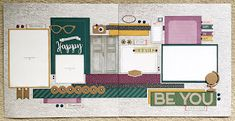 Scrap with Sue: July Club Kit - Documented