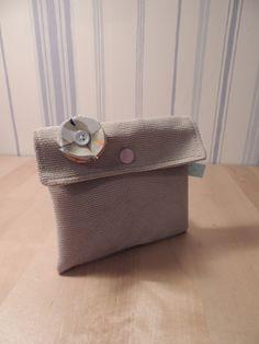 porte monnaie, pochette de sac à main : Porte-monnaie, portefeuilles par au-fil-des-tissus