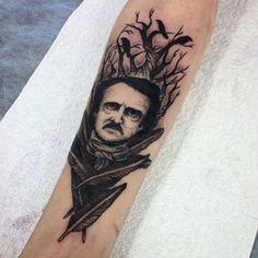 Finished Edgar Allan Poe by @a_gelmel