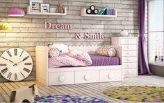 Get the look | Habitaciones infantiles con mucha imaginación Personalízala combinando colores y formas #decoración #muebles  Interiorismo, diseño de interiores