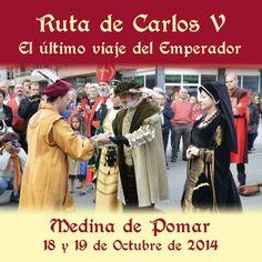 18 y 19/10  Ruta de Carlos V . Medina de Pomar
