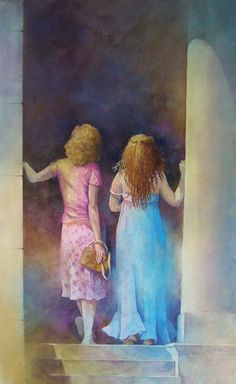 Galleries of Available Paintings - Alexis Lavine: Luminous Watercolors &…
