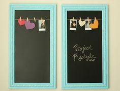 DIY Framed Chalkboards