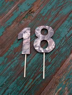 RealTree Camo Birthday Cake Numbers Topper by MommyKakesDesigns, $11.00