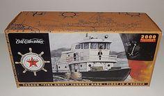 Coin Bank Texaco Fire Chief 1967 Tug Boat Ertl Die-cast Collectibles 2000  #ErtlCollectibles #Antonov