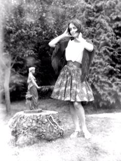 ma mère, dans les années 70