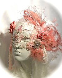Glamorous masquerade mask with a bouquet of velvet roses encrusted with beads, rhinestone appliques & feathers surrounding an ornately beaded and rhinestone studded molded mask. Wear for a masquerade wedding or match with Marie Antoinette dress costume. Masquerade Wedding, Masquerade Ball, Masquarade Mask, Mask Face Paint, Venetian Carnival Masks, Mardi Gras Costumes, Rhinestone Appliques, Beautiful Mask, Masks Art