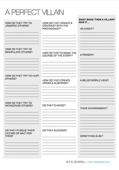 Write A Scene Writing Worksheet Wednesday  Worksheets Creative