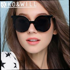 42.90$  Buy now - http://aliz5q.worldwells.pw/go.php?t=32748349589 - KOWILL Ladies Sunglasses Good  Gradient Cutting Cat eyes Cheap Sun Glasses Women Retro Vintage Shadow Oculos Feminino B14937