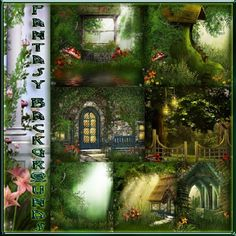 Backgrounds for Photoshop - Fantasy Backgrounds