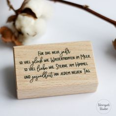 Stempe_Neujahr Place Cards, Place Card Holders, First Communion, New Day, Craft Tutorials