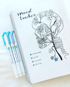 For your daily dose of bullet journal inspiration, check out these unique bujo mood tracker ideas to keep you mentally equipped. Bullet Journal Tracker, Bullet Journal Notebook, Bullet Journal Themes, Bullet Journal Spread, Bullet Journal Layout, Bullet Journal Inspiration, Bullet Journal Vacation, Bullet Journal Ideas Templates, Bellet Journal