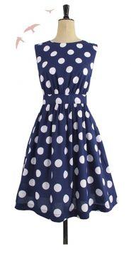My love for polka-dots runs deep.