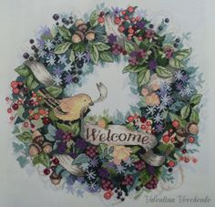 "Gallery.ru / Фото #9 - Ягодный венок ""Добро пожаловать"" (Berry Wreath Welcome) Dim - V-N-Best"