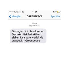 #greenpeace destek için 2322 e İMZA yaz by onurkilicofficial