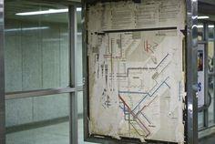Massimo Vignelli - New York City subway map