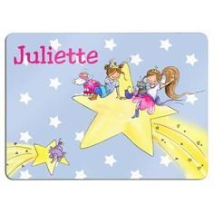 Placemat with a name, cute personalized gift for kids!