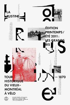 Typography / studioantwork: Clik clk Emanuel Cohen in Poster Design