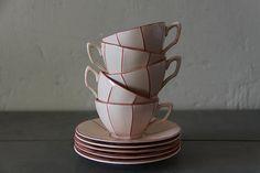 porzellan kaffee service c tielsch co altwasser mit blumen dekor 19 jh deutsches porzellan. Black Bedroom Furniture Sets. Home Design Ideas
