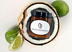 ALICIA_ she sells natural products with the recipes she uses. Kokomo Cream Deodorant - Handmade Creamy, Dreamy Tropical Deodorant - 4.75 oz WITH RECIPE