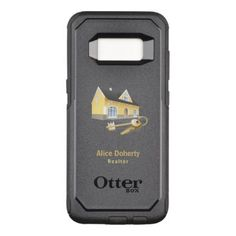 Real Estate Agent |  Home & Keys OtterBox Commuter Samsung Galaxy S8 Case - real estate gifts business cyo diy customize