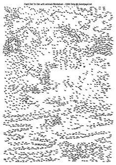Extreme printable dot to dots hard worksheet game puzzle