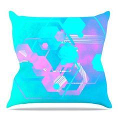 KESS InHouse Emersion Throw Pillow Size: