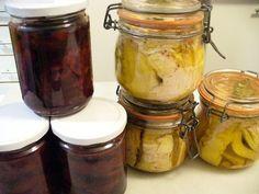 CONSERVAS CASERAS... MANUAL Chefs, Mason Jar Wine Glass, Vegan Recipes, Canning, Tableware, Yummy Yummy, Healthy Food, Amor, Jelly