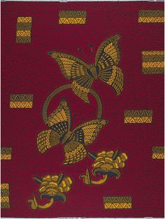 Order Big butterfly at VLISCO, the true original Big Butterfly, Product Information, African Fabric, African Fashion, Pattern, Prints, African Clothes, Optimism, African Prints