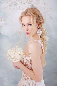 Wedding earrings with lace,Wedding jewelry, Boho, Bridemaid, White lace earrings Soutache Necklace, Lace Earrings, Big Earrings, Wedding Earrings, Wedding Jewelry, Crystal Earrings, Bridal Lace, Lace Wedding, Wedding White
