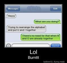 That a friend zoned burn