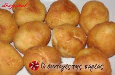 Πολύ νόστιμες κροκέτες πατάτας με εσωτερικό λιωμένου τυριού... Party Buffet, Most Favorite, Sweets Recipes, Greek Recipes, Potato Recipes, Recipies, Muffin, Potatoes, Bread