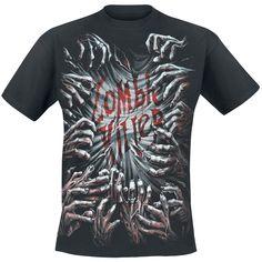 """Spiral T-Shirt """"Zombie Killer"""" schwarz"""