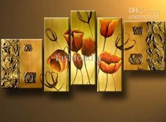Wholesale Oil Painting - Buy Big Size Flower Oil Painting on Canvas Modern Abstract Home Office Decoration Wall Art Gift Handmade, $80.53 | DHgate