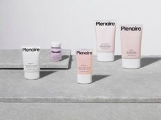 The Pentagram partners have designed a carefully curated design approach for a new skincare brand, developing its colour palette, art direction, custom typeface and visual language systems too. Branding Agency, Branding Design, Visual Identity, Brand Identity, Brand Symbols, Fragrance Mist, Product Label, Product Packaging, Packaging Design Inspiration