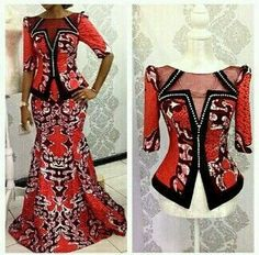 Online Hub For Fashion Beauty And Health: Stylish Ankara Long Skirt And Blouse For The Cutie...
