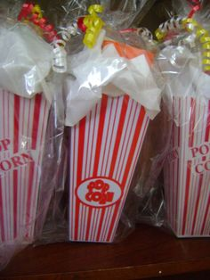 5. What would be your party favor? I would have popcorn boxes with snacks and popcorn in them for party favors! #TheHostPremiereParty