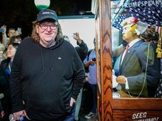 "Billing it as his own ""October surprise,"" the provocative filmmaker Michael Moore is looking to influence another presidential campaign on the silver screen. Michael Moore, Donald Trump, Marketing Software, Marketing Data, Affiliate Marketing, Internet Marketing, Religion And Politics, Political Beliefs, Electoral College Votes"