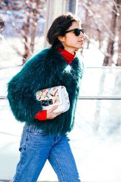 Street looks à la Fashion Week automne-hiver 2015-2016 de New York 20