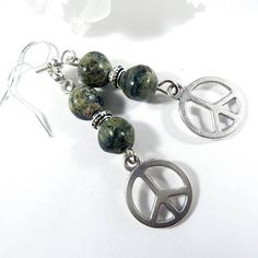 Let there be PEACE on Earth!  And what a better way to show it!  Find these earrings and more in EnchantedRoseShop on Etsy. Link in bio.  #gemstone #peace #peaceonearth #jewelry #jewelrygram #earrings #accessories #fashion #style #instajewelry #jewelryforsale #selfmade #etsyhandmade #etsyjewelry #etsyseller #bling #instadaily #jewelrygram #new #etsy #selfemployed #usa #madeinusa  #enchantedroseshop #fashionjewelry #fashion #ontrend #boutiques #instagood #photooftheday