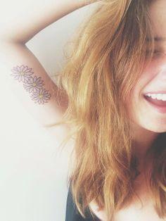 Daisy Tattoo / Tatuaje de Margarita