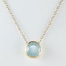 Betty Carre O Aquamarine Necklace--My birthstone!