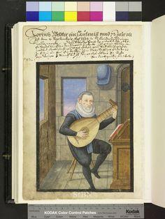 Lutenist - Amb. 317b.2° Folio 109 verso