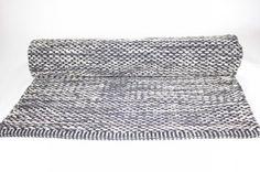 Rag rugs from Stjerna of Sweden - Tuva (grey)