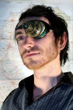 steampunk ocular device