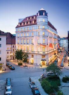 The Mandarin Oriental #Hotel in Munich.